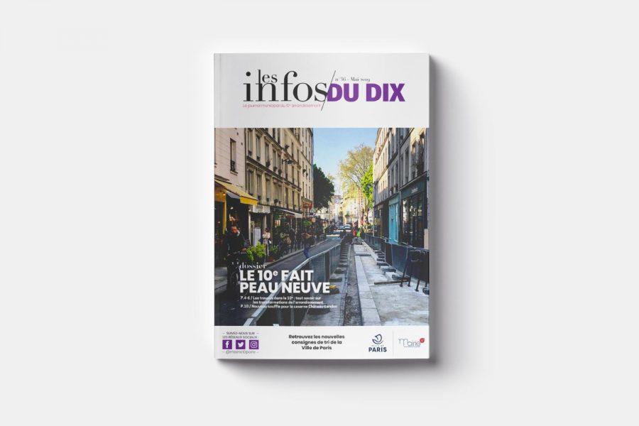 Journal municipal Les Infos du 10 Mairie du 10è arrondissement de Paris