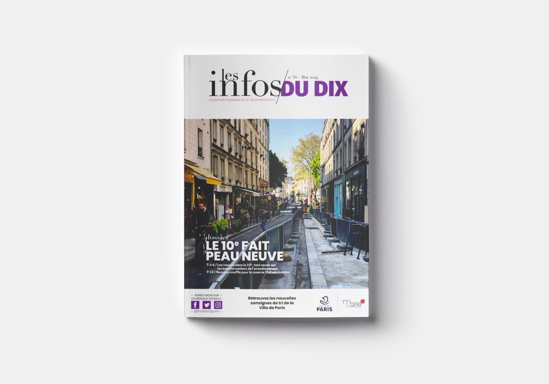 Mairie du 10e – Journal municipal Les Infos du 10