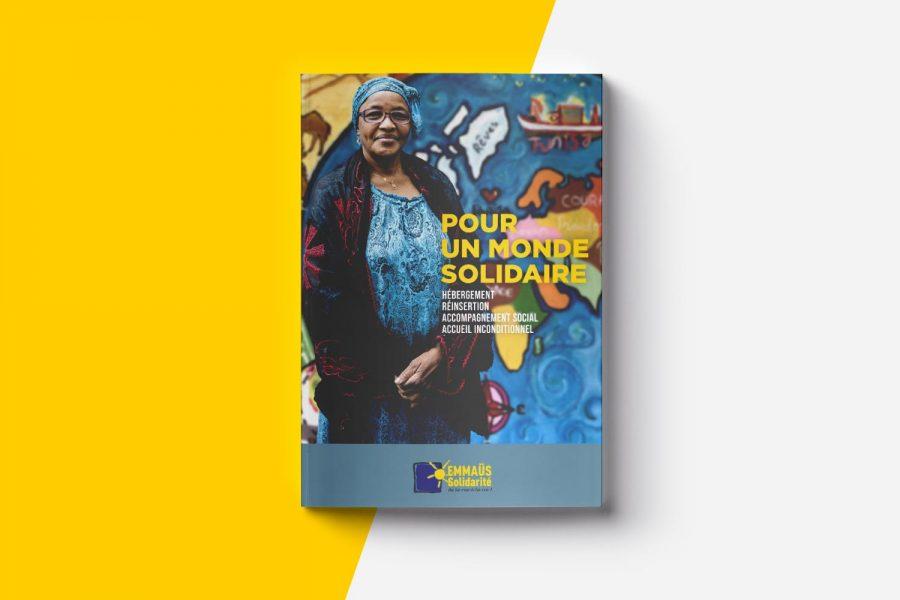 Plaquette institutionnelle d'EMMAÜS Solidarité