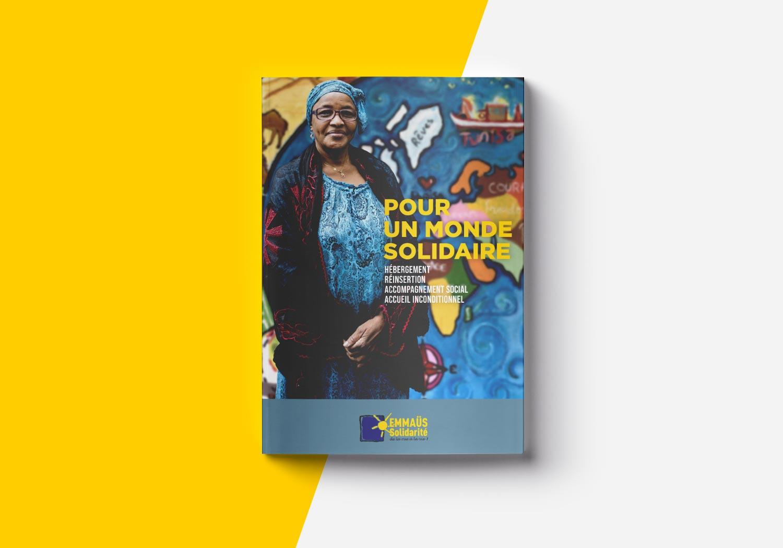 EMMAÜS Solidarité – Plaquette institutionnelle