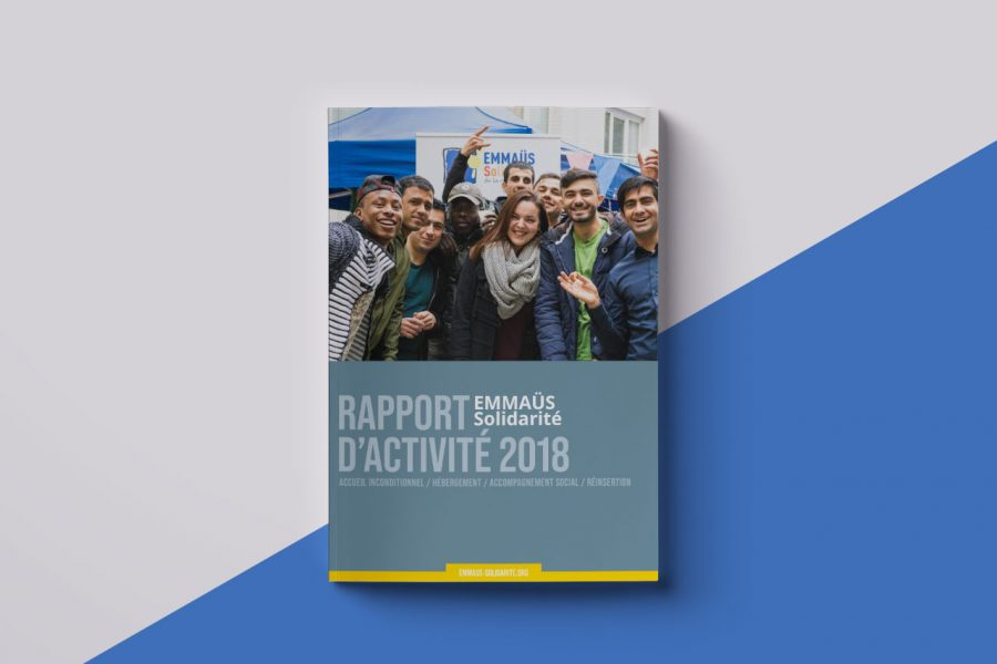 Rapport d'activité 2018 EMMAÜS Solidarité