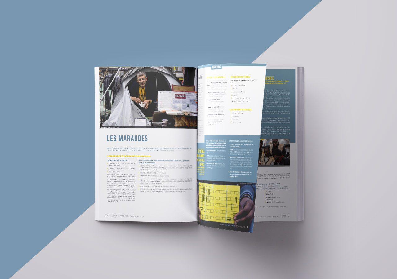 Rapport d'activité 2018 de l'association EMMAUS Solidarité