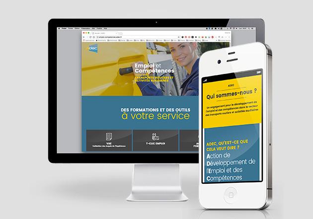 OPCA Transports – Plateforme web