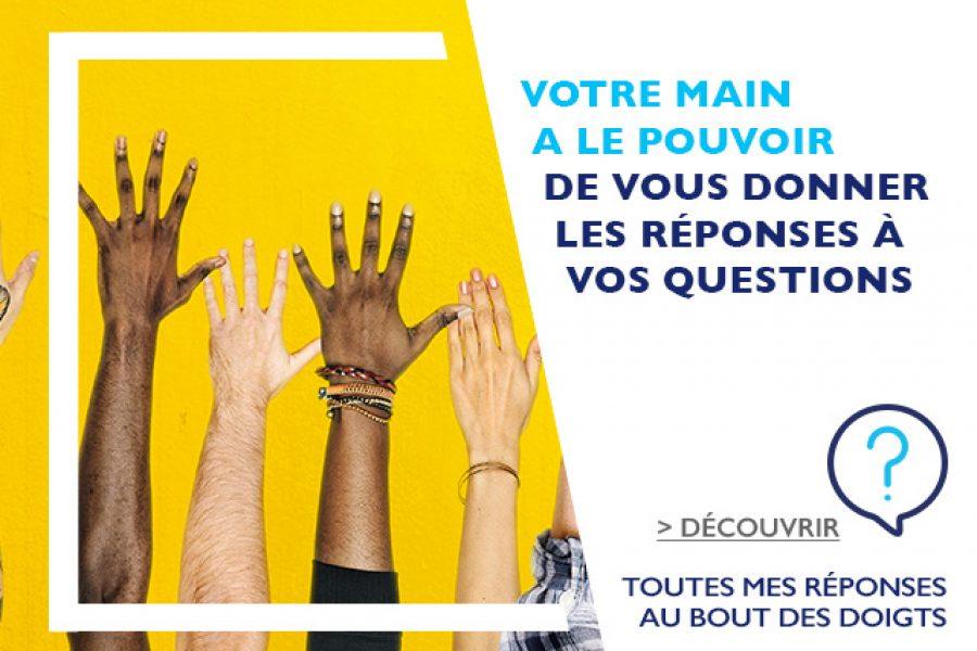 Site d'aide en ligne de la Banque Populaire Rives de Paris