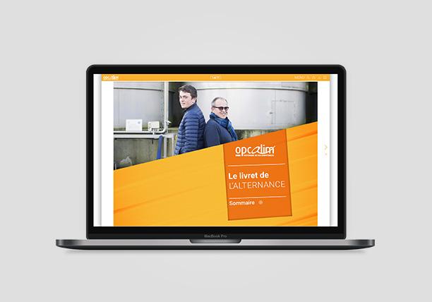OPCALIM – Campagne de communication sur l'alternance en entreprise