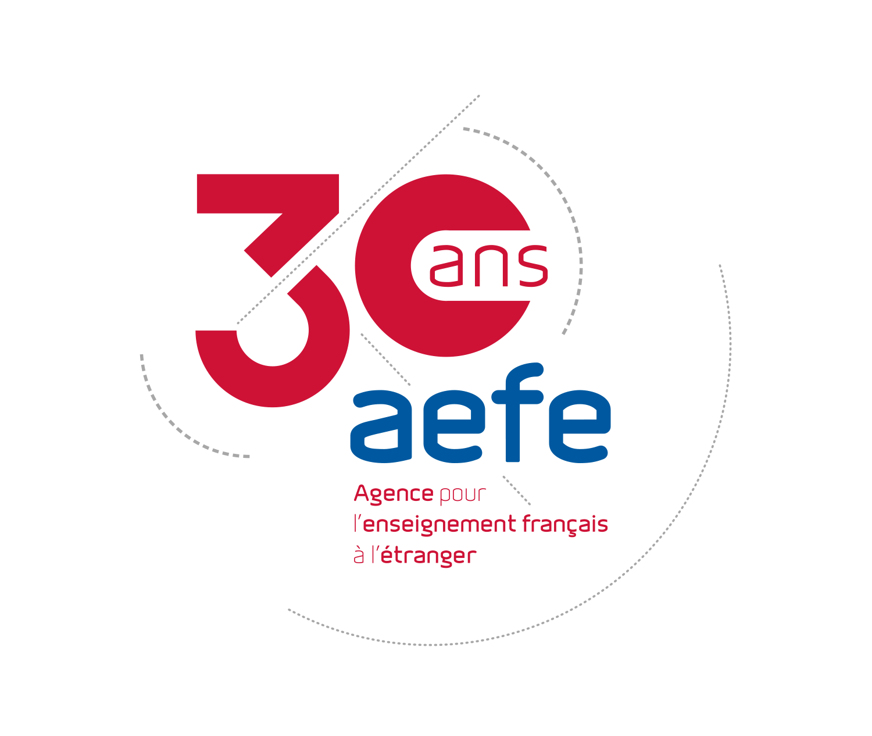 AEFE – Logo 30 ans