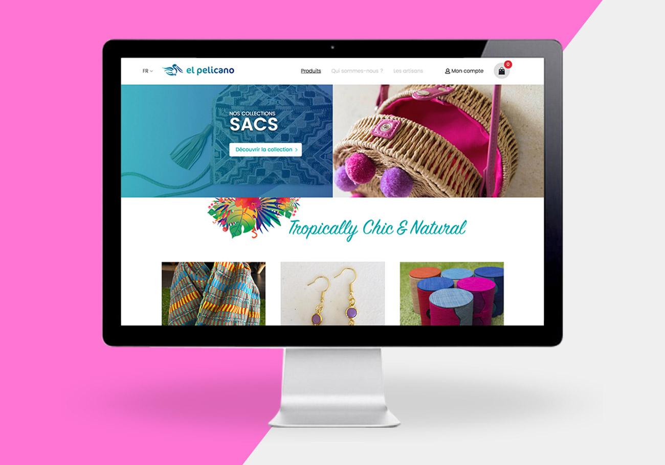 El pelicano – Site eCommerce