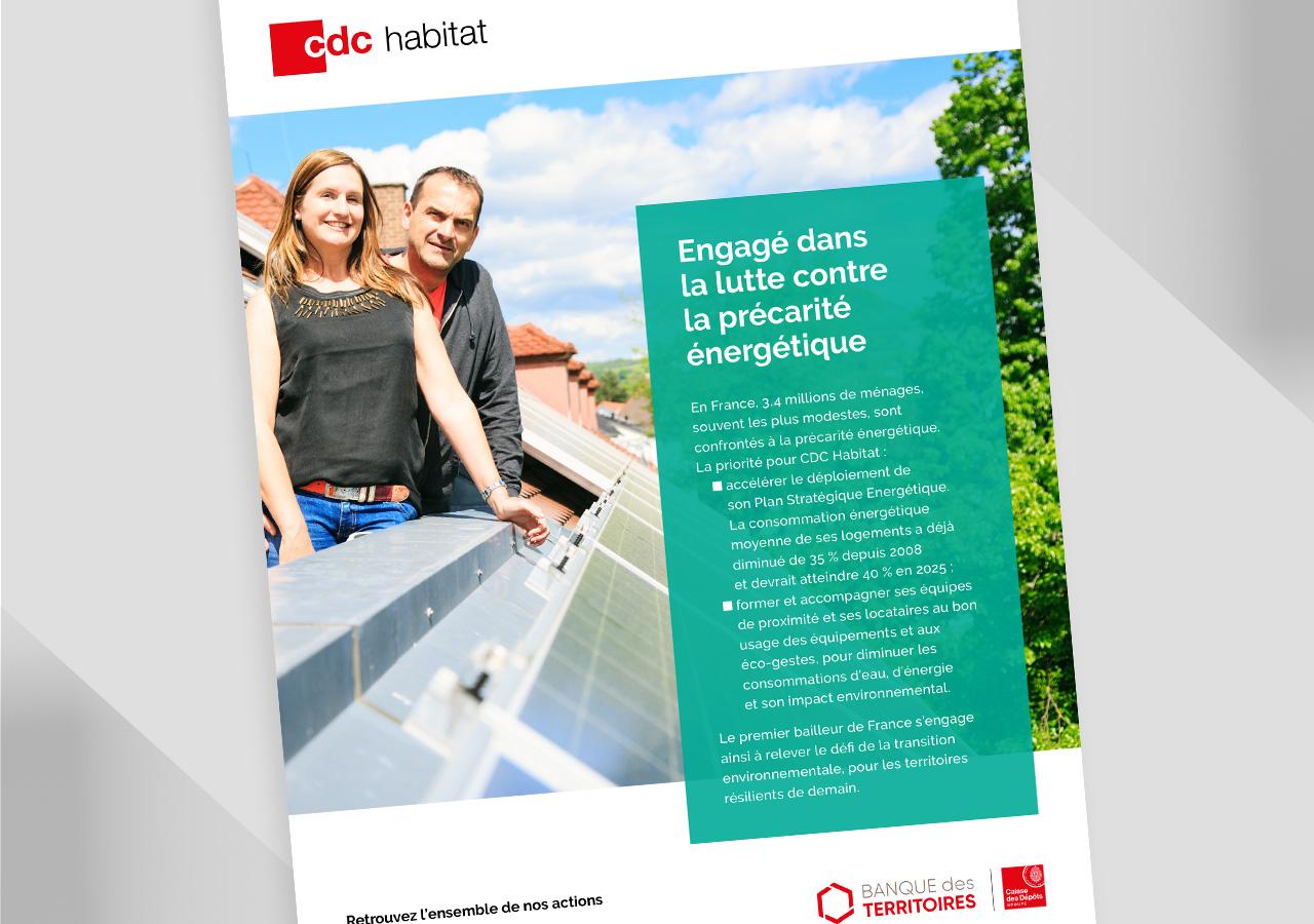 CDC Habitat – Campagne d'annonces presse