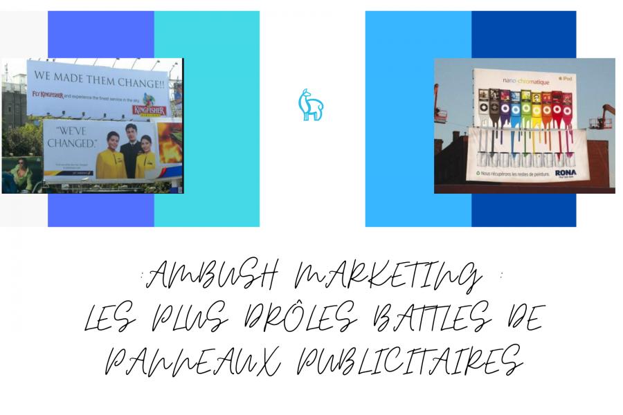 Ambush marketing : les plus drôles battles de panneaux publicitaires