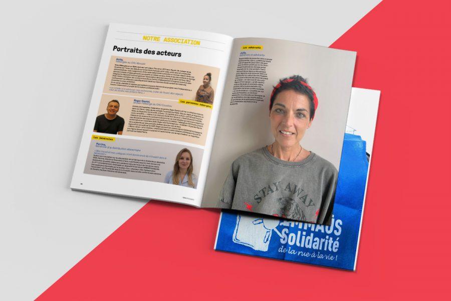 Rapport annuel 2020 – EMMAUS Solidarité