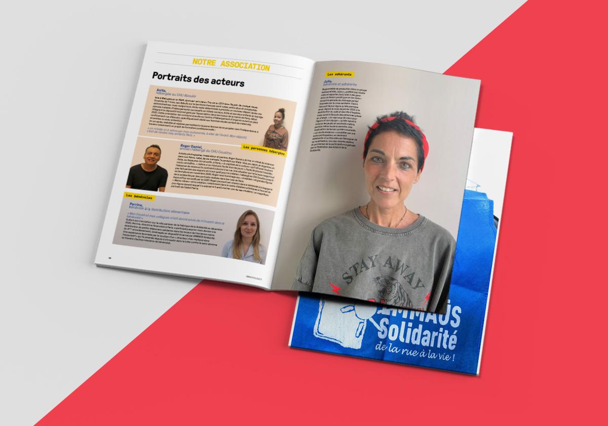 EMMAUS Solidarité – Rapport annuel 2020
